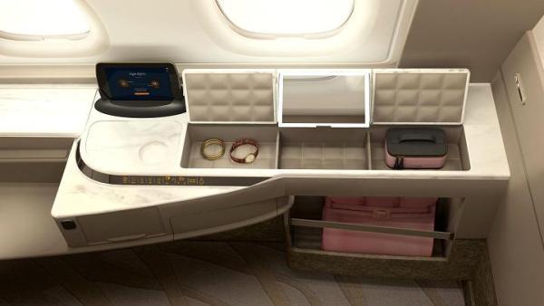 104813926 Suites 04720x405 600x338 - IMAGENS: Singapore Airlines revela nova experiência de voo a bordo de seus A380