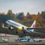 Air China é a primeira companhia aérea chinesa a receber o novo Boeing 737 MAX