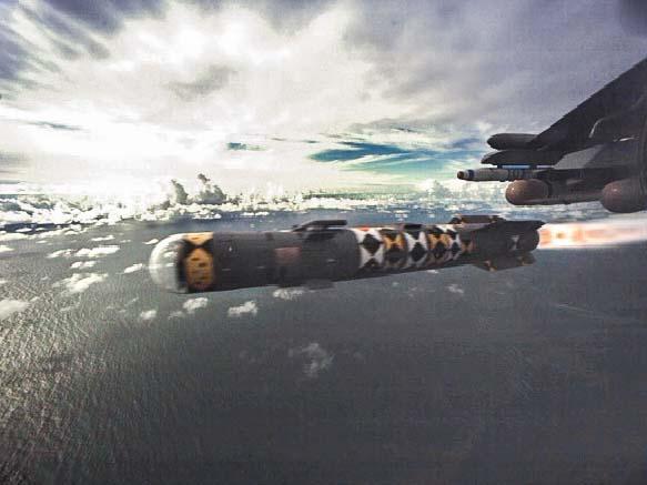RS65230 201709580 - Eurofighter conclui testes de integração do míssil Brimstone no caça Typhoon
