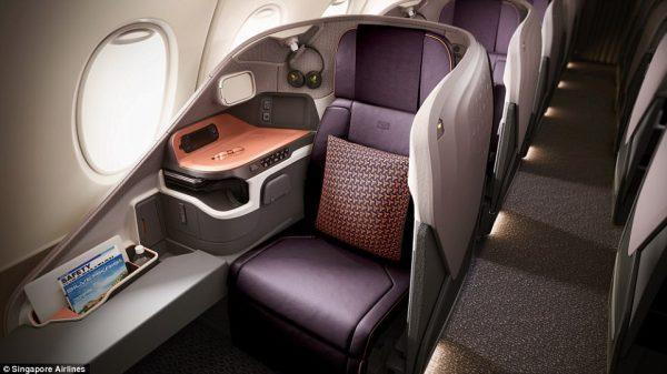 Singapore Business 78 1509635236849 600x337 - IMAGENS: Singapore Airlines revela nova experiência de voo a bordo de seus A380