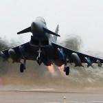 Eurofighters da Luftwaffe ganham capacidade de ataque ar-superfície