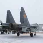 Força Aérea do Cazaquistão recebe dois novos caças Su-30SM