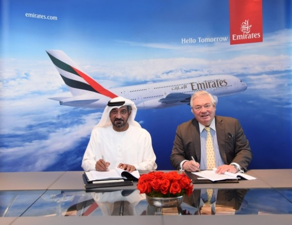 699544519 600x464 - Emirates fecha acordo com a Airbus para 36 aviões A380