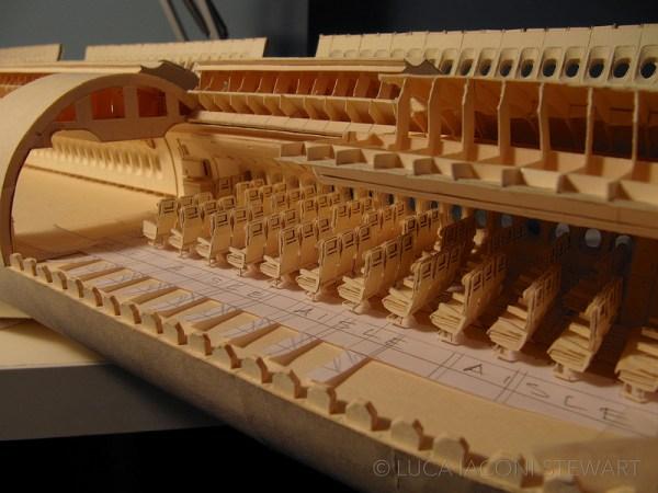 777 11 600x450 - VÍDEO E IMAGENS: Um Boeing 777 todo feito de papel