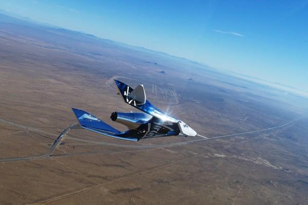 VSSUnity 7thGlideFlight web 600x400 - Virgin Galactic realiza primeiro voo planado de alta velocidade