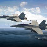 Mais 45 caças Super Hornets modificados para Marinha dos EUA