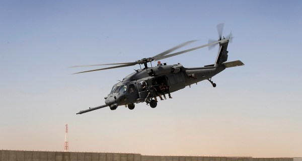 sikorsky hh 60 pave hawk iraq 600x320 - Acidente com helicóptero HH-60G Pave Hawk no Iraque