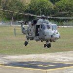 Leonardo demonstra seu helicóptero AW159 para as Forças Armadas da Malásia