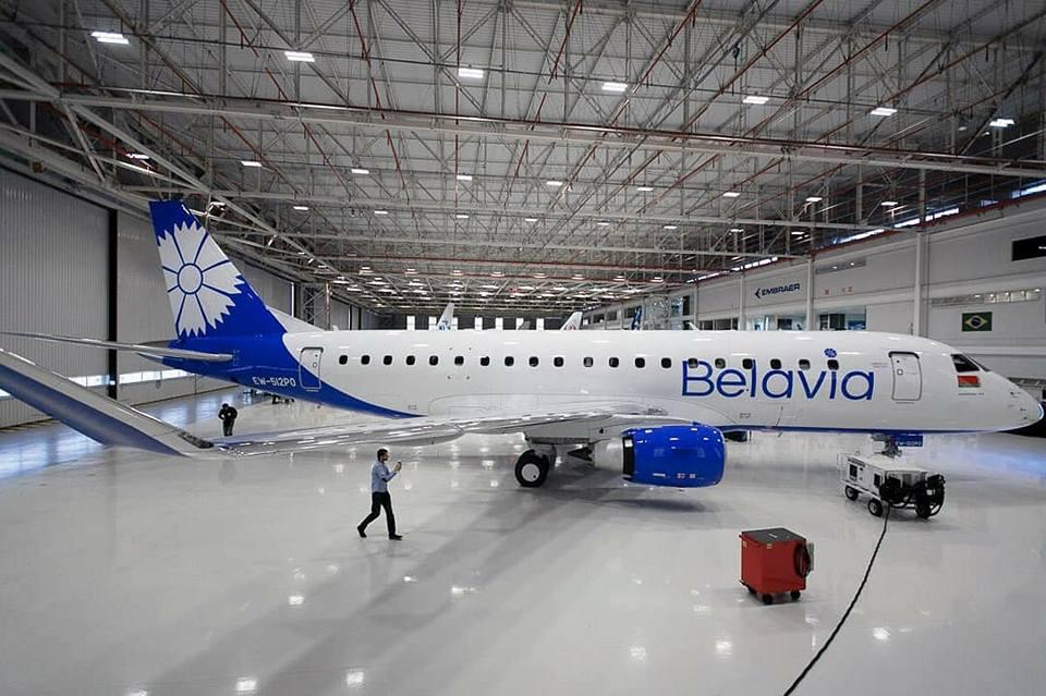 Resultado de imagen para Belavia Embraer E195 E175