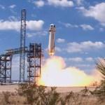 Blue Origin lança a nova Cápsula Espacial Shepard no mais alto voo de teste