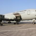 FAB: Esquadrão Corsário transporta remédios e equipe médica para Boa Vista
