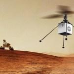 ESPAÇO: Helicóptero em Marte