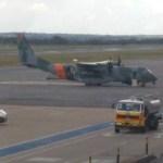 BRASIL: Avião da FAB faz pouso de emergência após princípio de incêndio