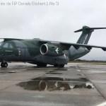 IMAGENS: KC-390 realiza testes na região Sul do Brasil