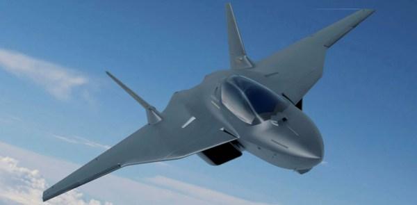 Conceito do FCAS Airbus 600x295 - Neblina no horizonte: os desafios e incertezas do futuro caça de combate Europeu