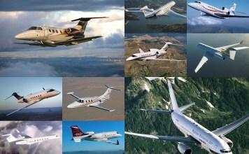 collage executive Jets - ESPECIAIS