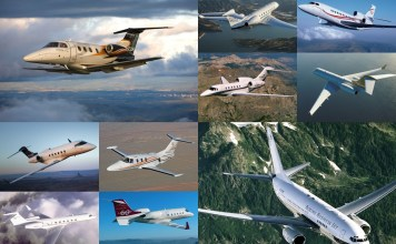 collage executive Jets - ESPECIAIS