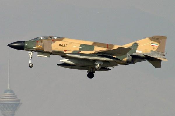 image 2 600x400 - Acidente com F-4D Phantom II do Irã
