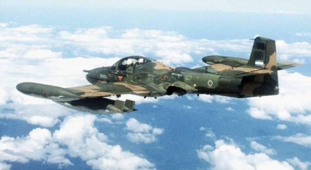 "A 37 Dragonfly Vietna - ""A"" de ataque: Cessna A-37 Dragonfly"