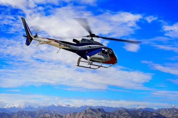 C OwbicV0AAyAI8 600x399 - Helicóptero chinês AC311A completa testes de voo em locais de grande altitude