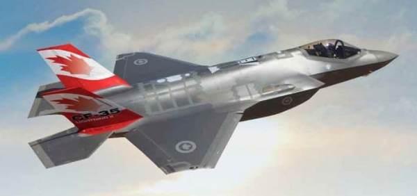 f35 canadien 600x282 - Canadá segue participando do programa F-35, mas lançará competição para novo caça