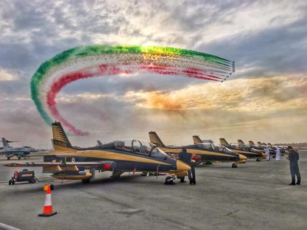 20181119 TourMedioOriente Bahrein 13 600x450 - IMAGENS: Força Aérea Italiana conclui turnê de demonstrações pelo Oriente Médio