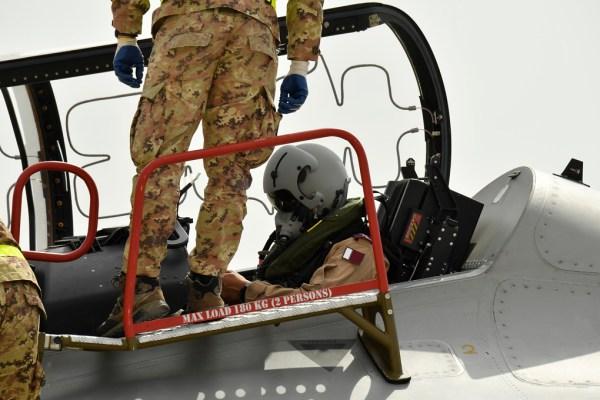 20181119 TourMedioOriente Qatar 100 600x400 - IMAGENS: Força Aérea Italiana conclui turnê de demonstrações pelo Oriente Médio