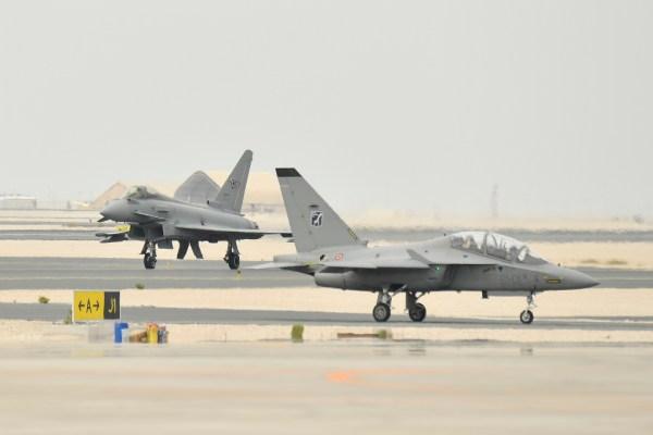 20181119 TourMedioOriente Qatar 103 600x400 - IMAGENS: Força Aérea Italiana conclui turnê de demonstrações pelo Oriente Médio