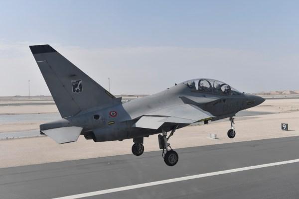20181119 TourMedioOriente Qatar 18 600x400 - IMAGENS: Força Aérea Italiana conclui turnê de demonstrações pelo Oriente Médio