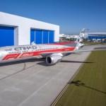 "VÍDEO: Etihad apresenta o 787 Dreamliner com pintura ""Abu Dhabi Formula 1 2018"""