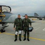 Militares da FAB são qualificados para operação do Gripen NG