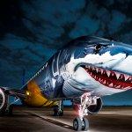 """Jato Embraer E190-E2 """"Shark"""" completa turnê mundial"""