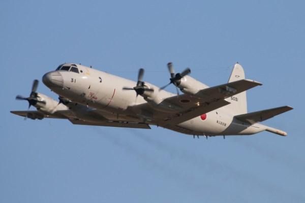 20140430 5031 lockheed kawasaki p 3c iic2bd orion david eyre 1 600x400 - Novamente aeronave japonesa sobrevoa de maneira perigosa navio sul coreano