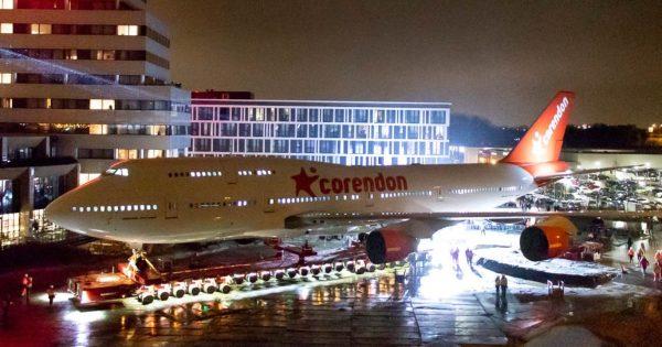 20190210 747 Corendon 2 1200x630 600x315 - IMAGENS: Boeing 747-400 aposentado cruza estradas para virar atração em hotel na Holanda