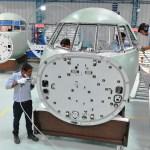 IMAGEM: Primeiras seções de fuselagens para jatos executivos Dassault Falcon 2000 são produzidas na Índia