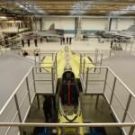 Primeiro Gripen E da FAB entra na segunda etapa da montagem final