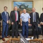 FX-2: Comandante da Aeronáutica recebe visita do Presidente da SAAB