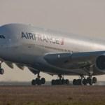 Incidente em voo com motor de A380 da Air France