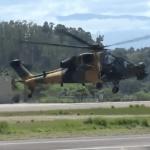 VÍDEO: Helicóptero turco T129 ATAK voa no Brasil