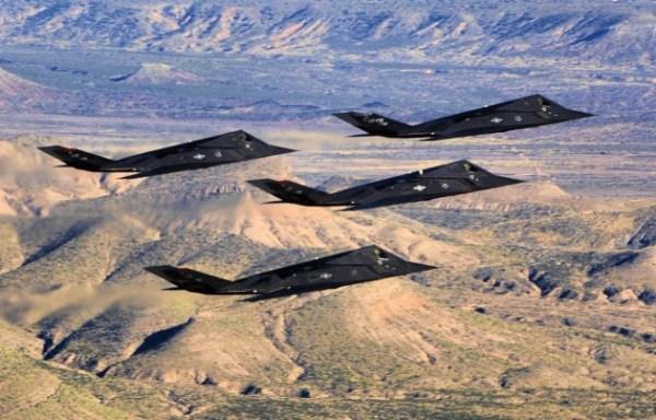 f117 600x384 - Jatos F-117 teriam sobrevoado a Síria em 2017