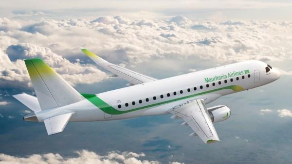 E175 MauritaniaAirlines 600x338 - Embraer e Mauritania Airlines assinam contrato de serviços para a nova frota de jatos E175