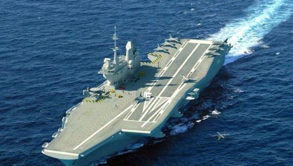french carrier design 600x341 - Alemanha propõe porta-aviões conjunto europeu