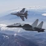 Índia envia jatos Su-30MKI e Mirage 2000 para interceptar caças F-16 paquistaneses