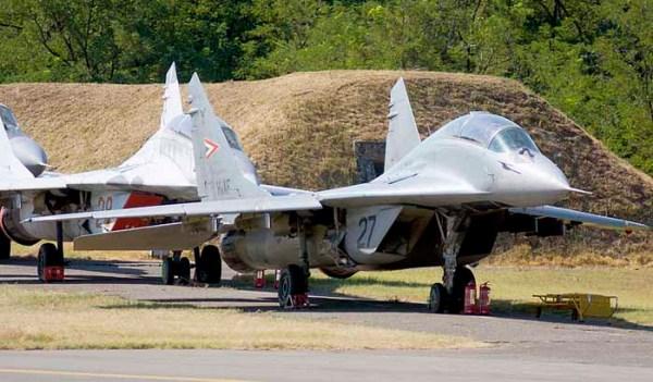 mig 29 hongaria 600x351 - Nenhum interessado no leilão de 19 caças MiG-29 na Hungria