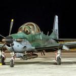 FAB intercepta aeronave com meia tonelada de pasta base de cocaína