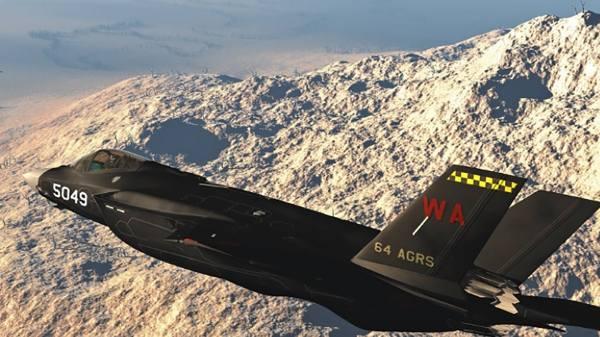 F 35 Aggressor 64th 600x337 - Força Aérea dos EUA ativará seu primeiro esquadrão 'agressor' com caças F-35A