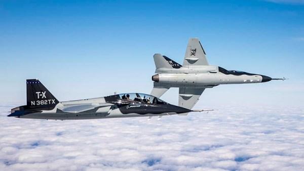 image t x photo boeing remarks 736x 600x338 - Boeing prevê mercado potencial para 2.600 aeronaves T-X