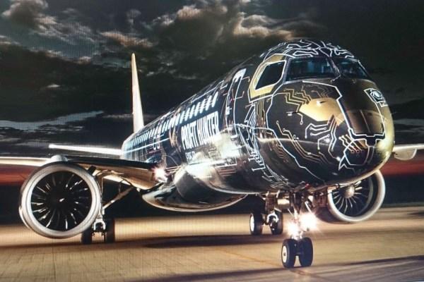 32CB53A1 388E 49C1 A3BB C041C7CCF5EA 600x400 - VÍDEO: Embraer apresenta a nova pintura Profit Hunter chamada de TechLion
