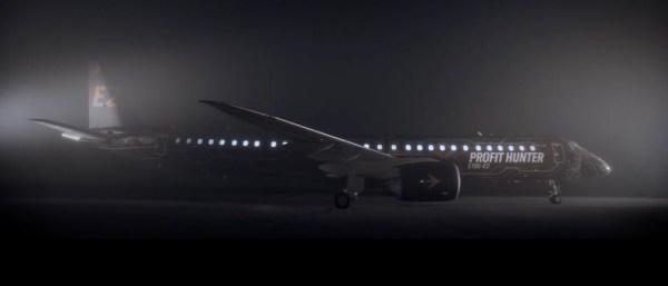 BFA4E136 7C16 4A53 B299 9014B4B2110D 600x257 - VÍDEO: Embraer apresenta a nova pintura Profit Hunter chamada de TechLion