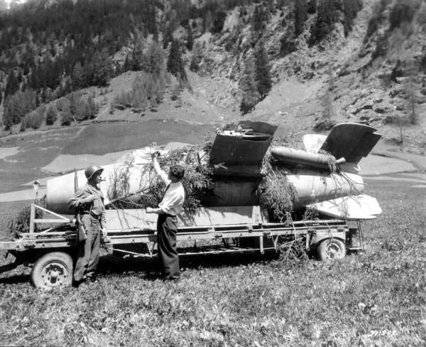 Bachem Ba 349 Natter2 600x488 - AERONAVES (QUASE) FAMOSAS: Ba 349 'Natter', o jato de madeira da Alemanha nazista